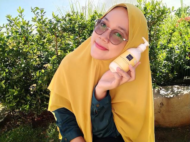 Freshy body lotion fragrance scarlett whitening wangi segar