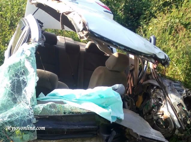 Six killed in accident on Akosombo road
