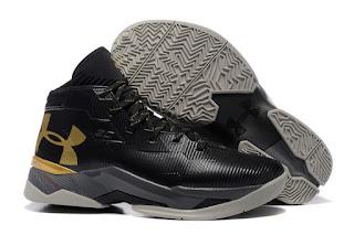 Under Armour Curry 2.5 Black Gold Premium, toko sepatu basket , jual sepatu basket, harga basket under armour, under armour curry , curry 2.5