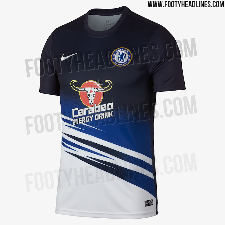 separation shoes 7b4dd 76940 Carabao Training Sponsor Deal Over?! Chelsea 19-20 Pre-Match ...