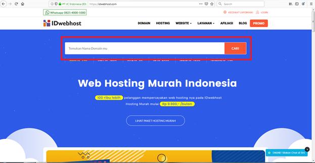 Cara Mengganti Domain Blogspot Menjadi Top Level Domain (TLD) dengan Domain dari IDwebhost