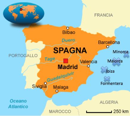 Cartina Geografica Spagna E Formentera.In Search Of Sensations Travel Feelings Spagna Baleari Ibiza E Formentera 1998