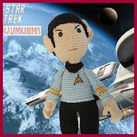 Mister Spock amigurumi