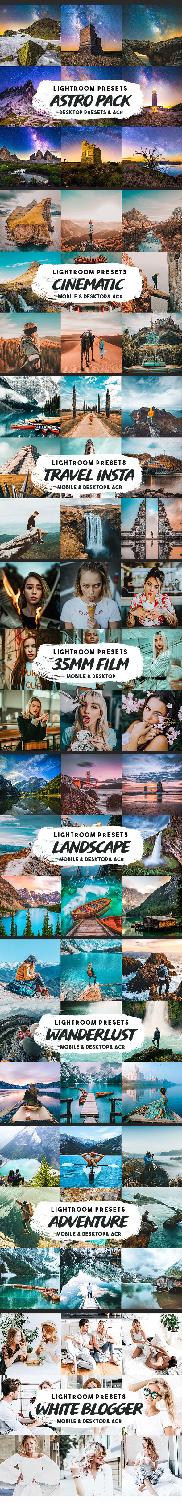 GraphicRiver Lightroom Presets Bundle by Presetsh 28211403