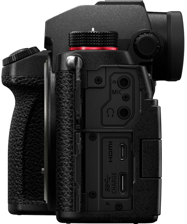 Разъемы Panasonic Lumix S5
