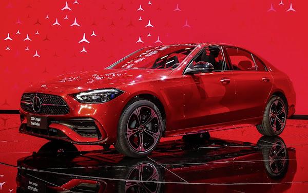 Novo Mercedes-Classe C 2022 longo estreia na China - fotos