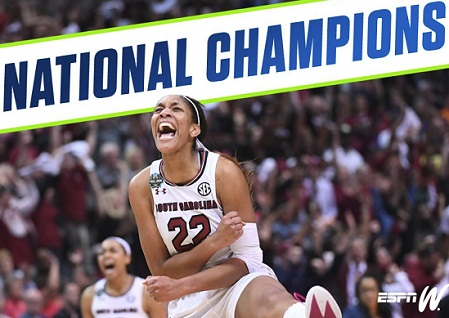 NCAA named D I Women's Basketball Championship regional sites for next years 2019-2022.