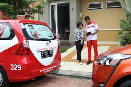 Service Kendaraan Tanpa Keluar Rumah Bersama Toyota Home Service Bekasi