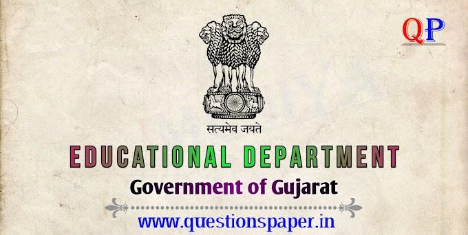GSQAC School Inspector Written Exam Question Paper (13-07-2019)