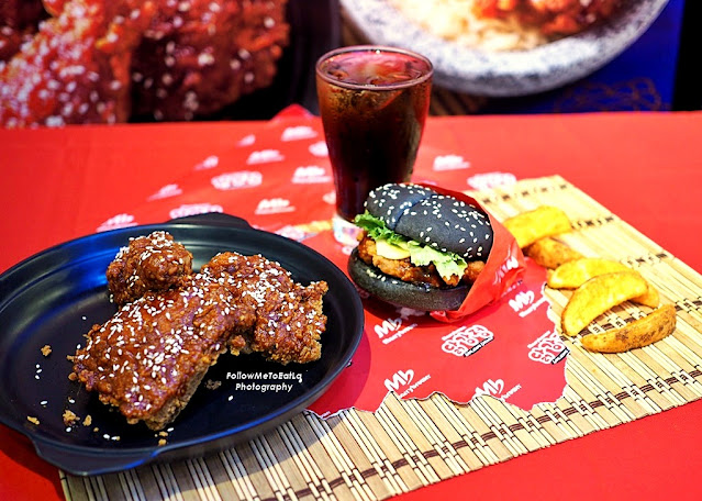 MARRYBROWN Introduces Korean-Inspired Meal, Korean Gangjeong Chicken, Gangjeong Burger & Gangjeong Rice Bowl