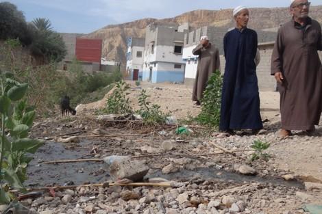 مياه عادمة تغمر بلدة سوسية .. سنوات من الخراب للبشر والشجر