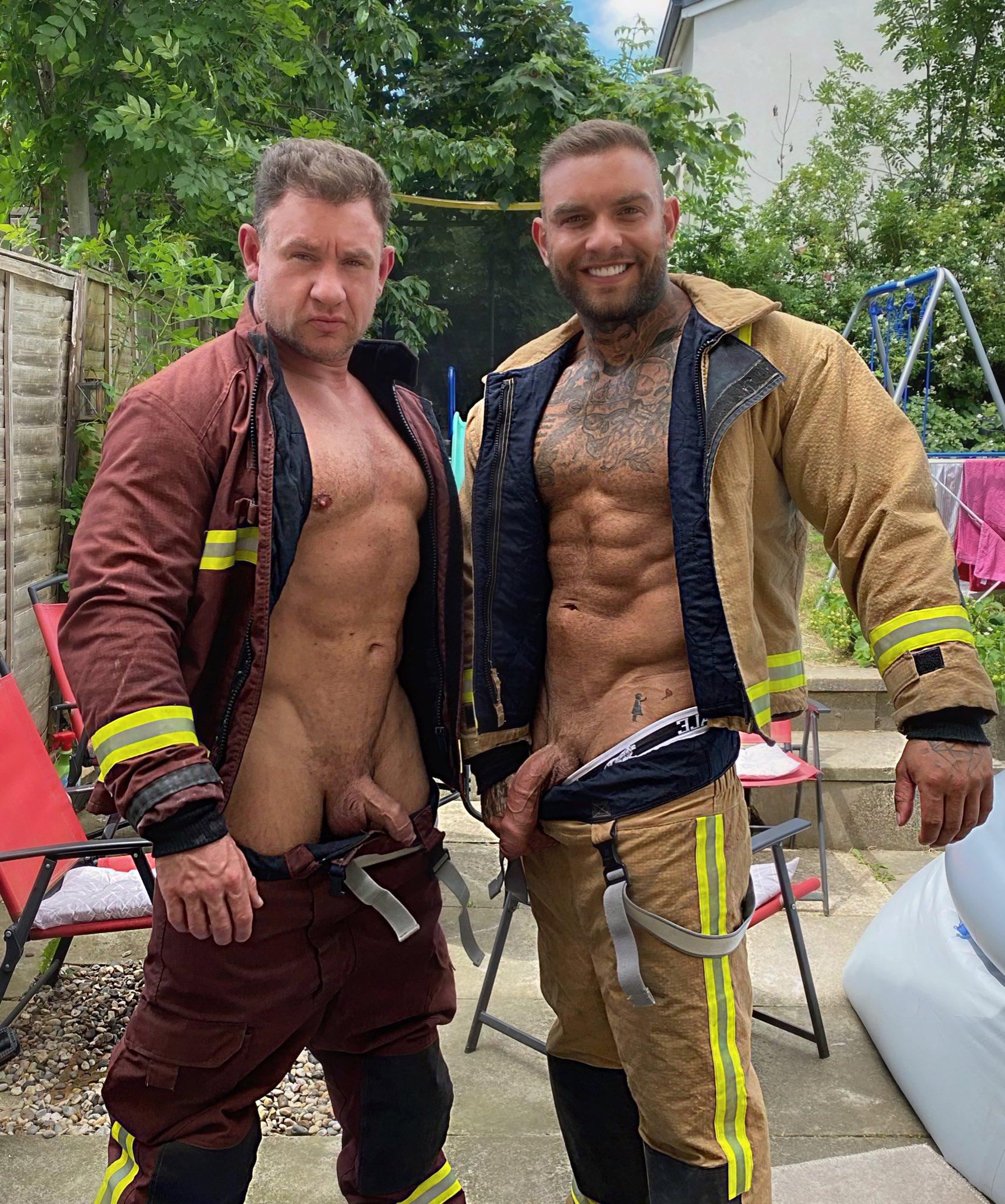 bomberos y sus vergas