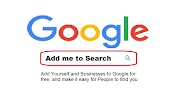 Add me to search - Add your Business to Google