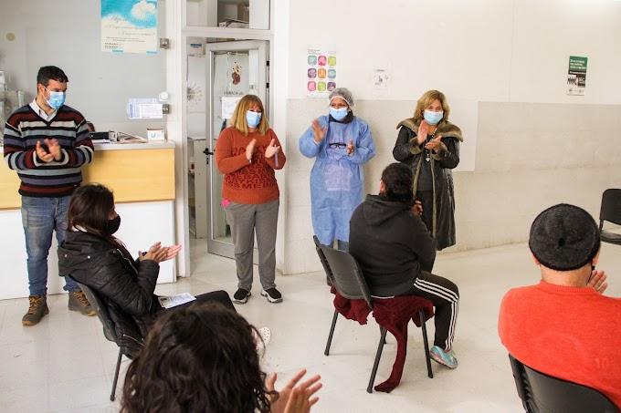 Covid-19: La provincia avanza con la vacunación en los centros de salud