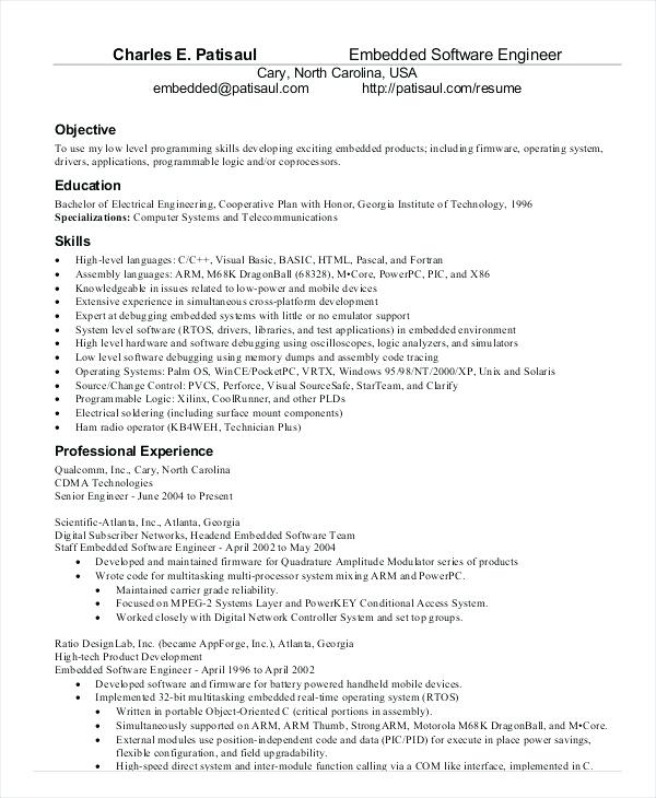 Senior Java developer resume sample - Lebenslauf Vorlage Site