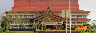 Gedung kantor Bupati Kabupaten Pelalawan