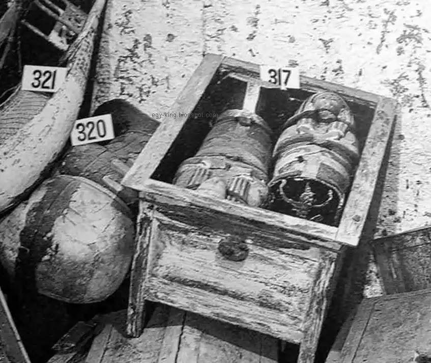 Coffins of Tutankhamun Children