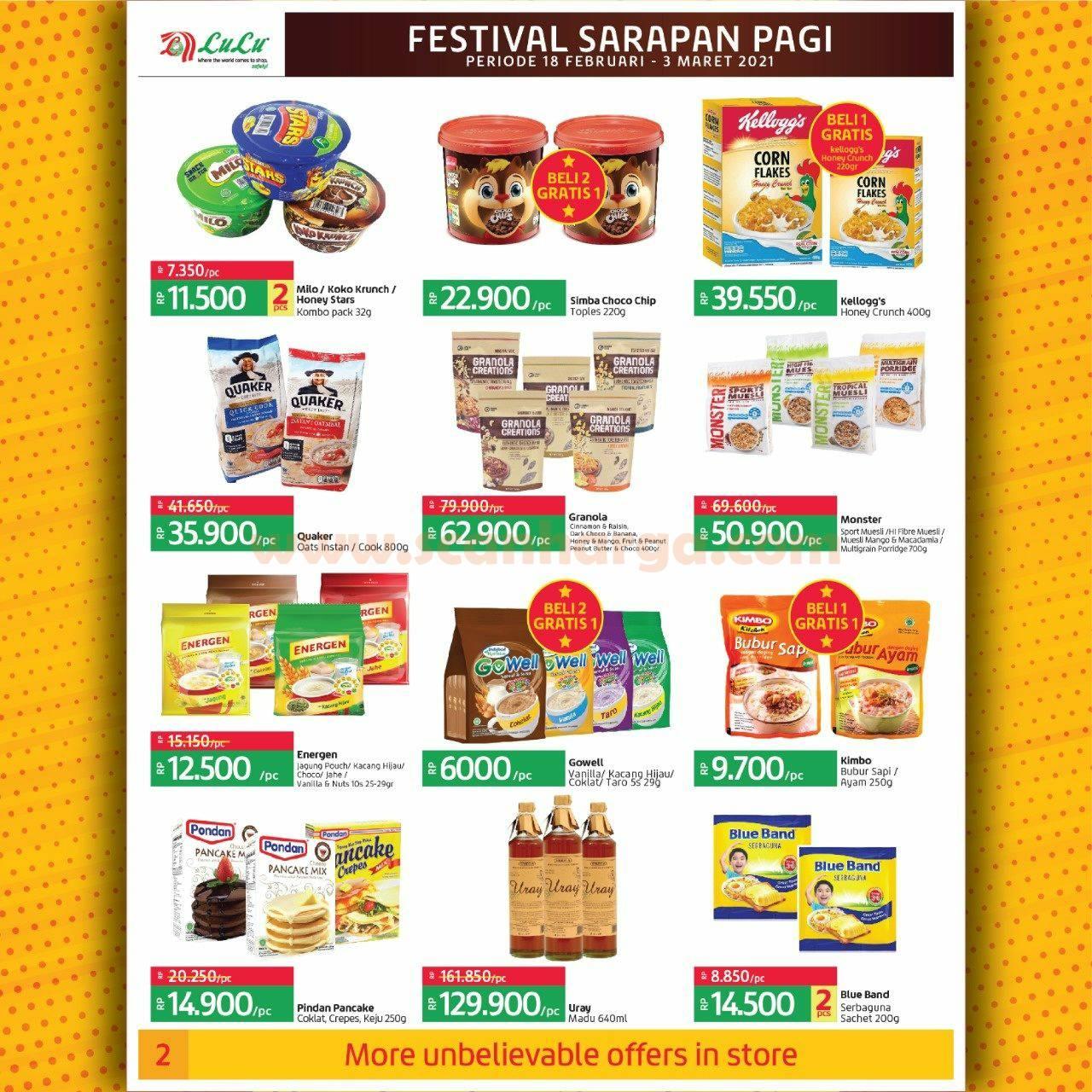 Katalog Promo LULU Supermarket 18 Februari - 3 Maret 2021 2