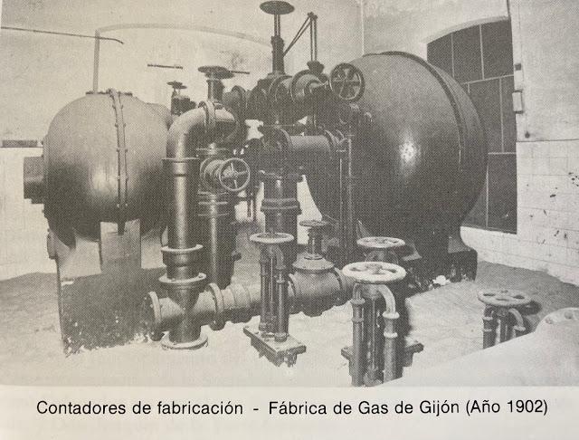 """Fotografía del libro """"Asturias, Una Historia del Gas de Alumbrado"""" de Juan Santana"""