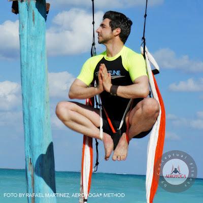 yoga, aeroyoga, yoga aerien, livre, rafael martínez, stage, formation, enseignants, formation professionnelle, sante, bienetre, sport, sportif