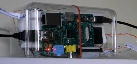 Arduino And Raspberry Voice Control Garage Door Using