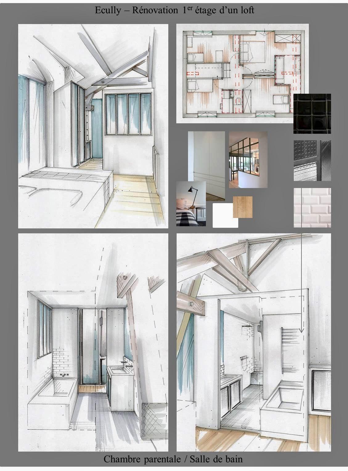 isabelle chalumeau conception graphique et d coration d 39 int rieur ecully loft. Black Bedroom Furniture Sets. Home Design Ideas
