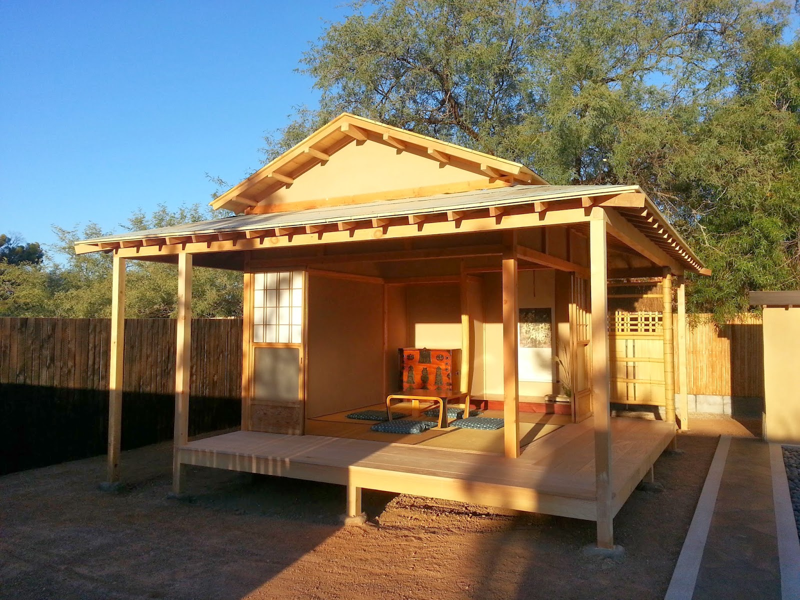 Yume Japanese Garden, Tucson, AZ : Tea House | BearFoot ...