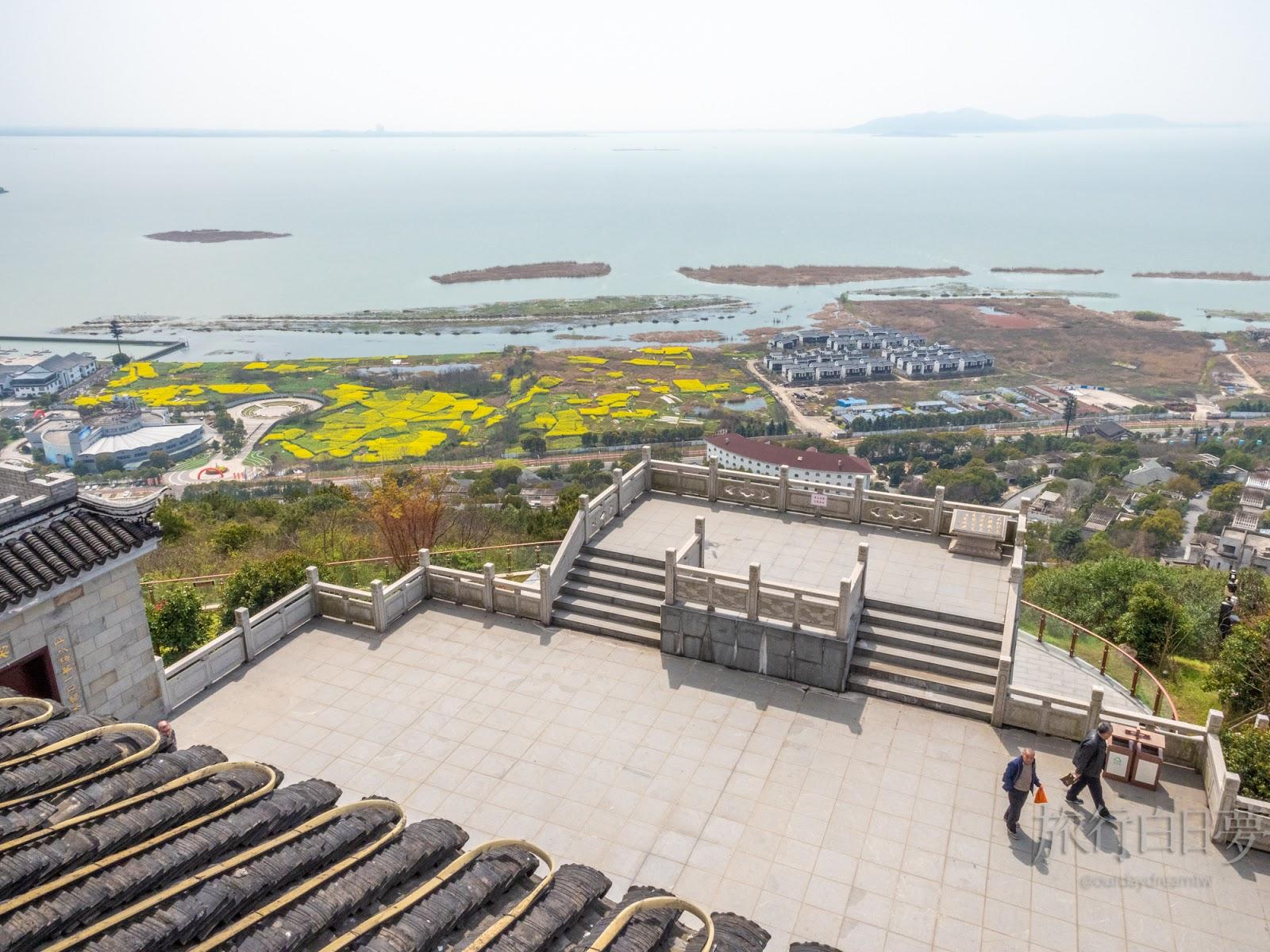 蘇州太湖│三面環湖半島「漁洋山」 江南才子筆下的詩畫美景