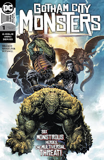 Cover of Gotham City Monsters #1 from DC Comics