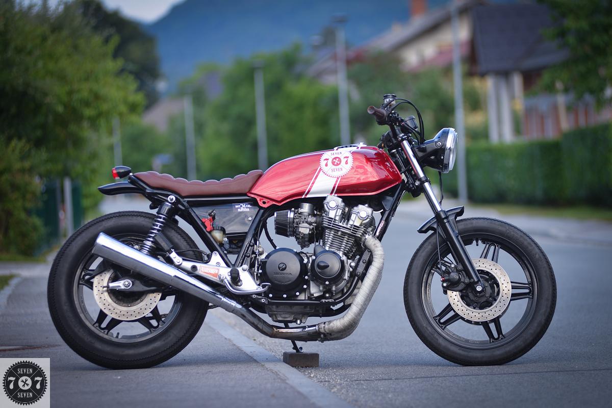 Honda Cb750 Dohc Cafe Racer – Idea di immagine del motociclo
