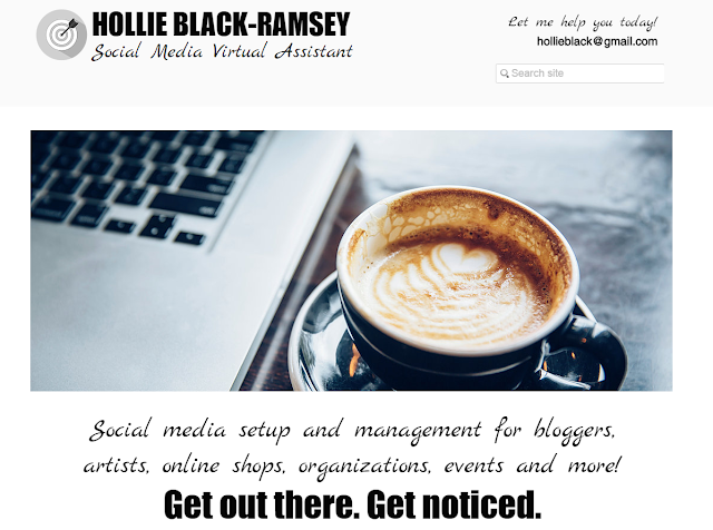 Meet Hollie Black-Ramsey, Social Media Virtual Assistant! (That's me!)