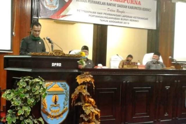 PSU Pilgub Jambi, Fraksi PKB DPRD Kerinci Pastikan Kemenangan Al Haris-Sani