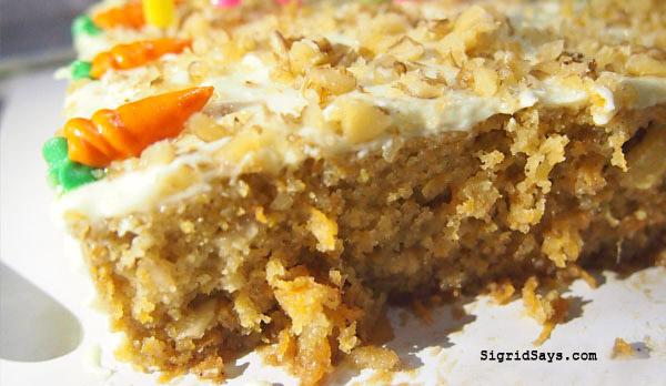 JJC Nutritreats - Bacolod healthy desserts - carrot cake - best desserts in Bacolod - Bacolod desserts - Bacolod cafes - Bacolod restaurants - Bacolod bloggerbest desserts in Bacolod - Bacolod desserts - Bacolod cafes - Bacolod restaurants - Bacolod blogger