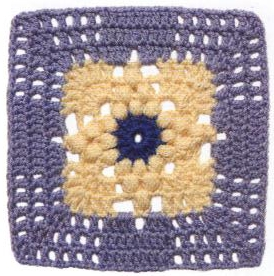 Patrón #1111: Granny a Crochet