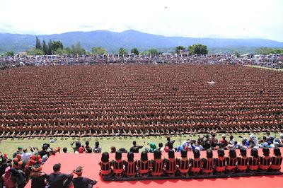FESTIVAL SAMAN DI GAYO LUES  (Menjadi Juara di Kampung Jawara)