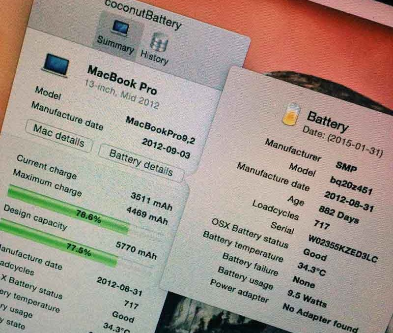Service Battery Warning Fix