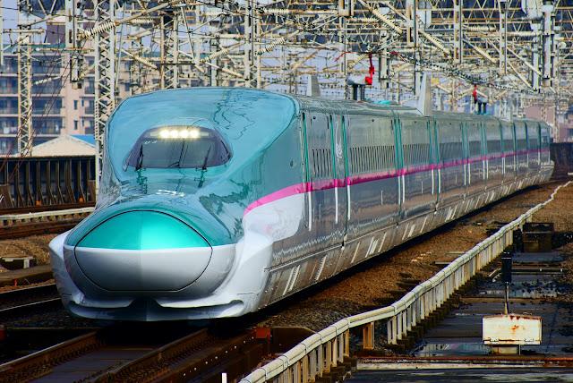 Mumbai Ahmedabad Shinkansen E5 bullet train