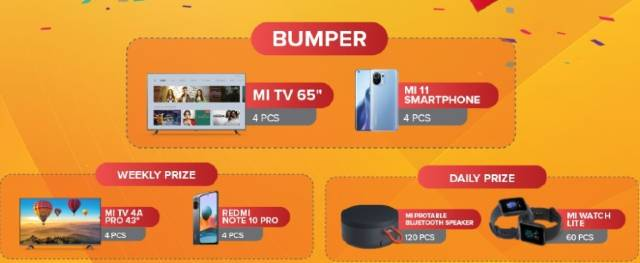 Xiaomi Dashain Offers 2078