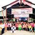 Meriahkan HUT RI ke 74 Masyarakat Salayo adakan  Gerak Jalan Santai