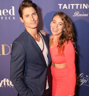 Matthew MacCaull with his girlfriend Alix Lane