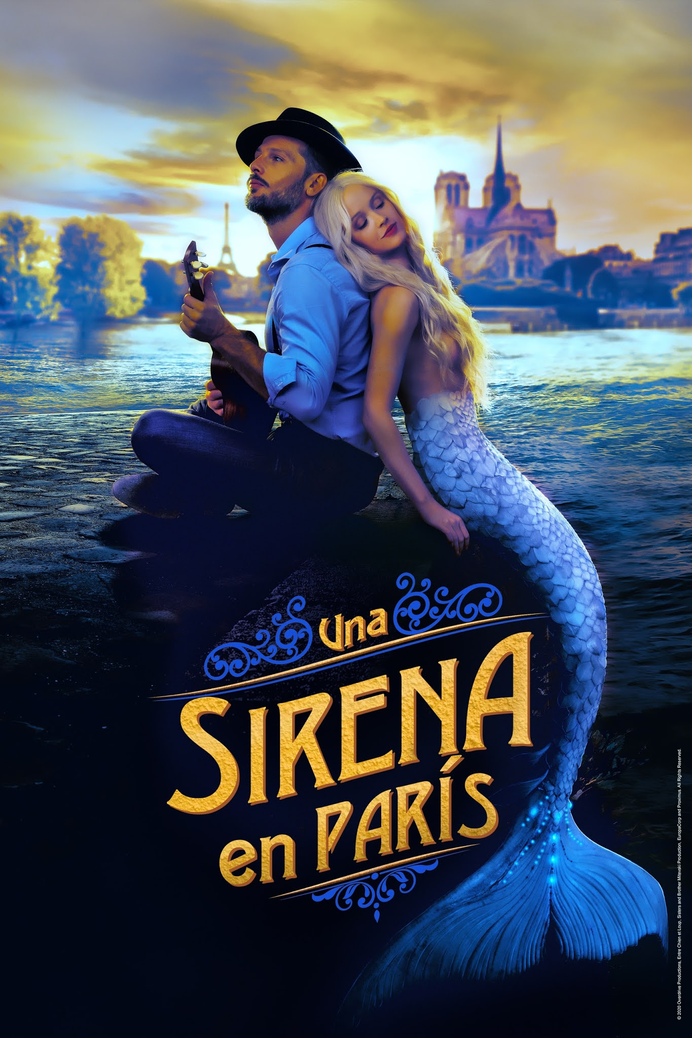 A Mermaid in Paris (2020) WEB-DL 1080p Latino