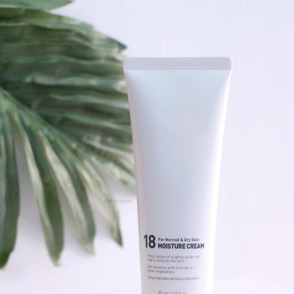 Review A'pieu 18 Moisture Cream, Pelembab Untuk Kulit Kering dan Normal