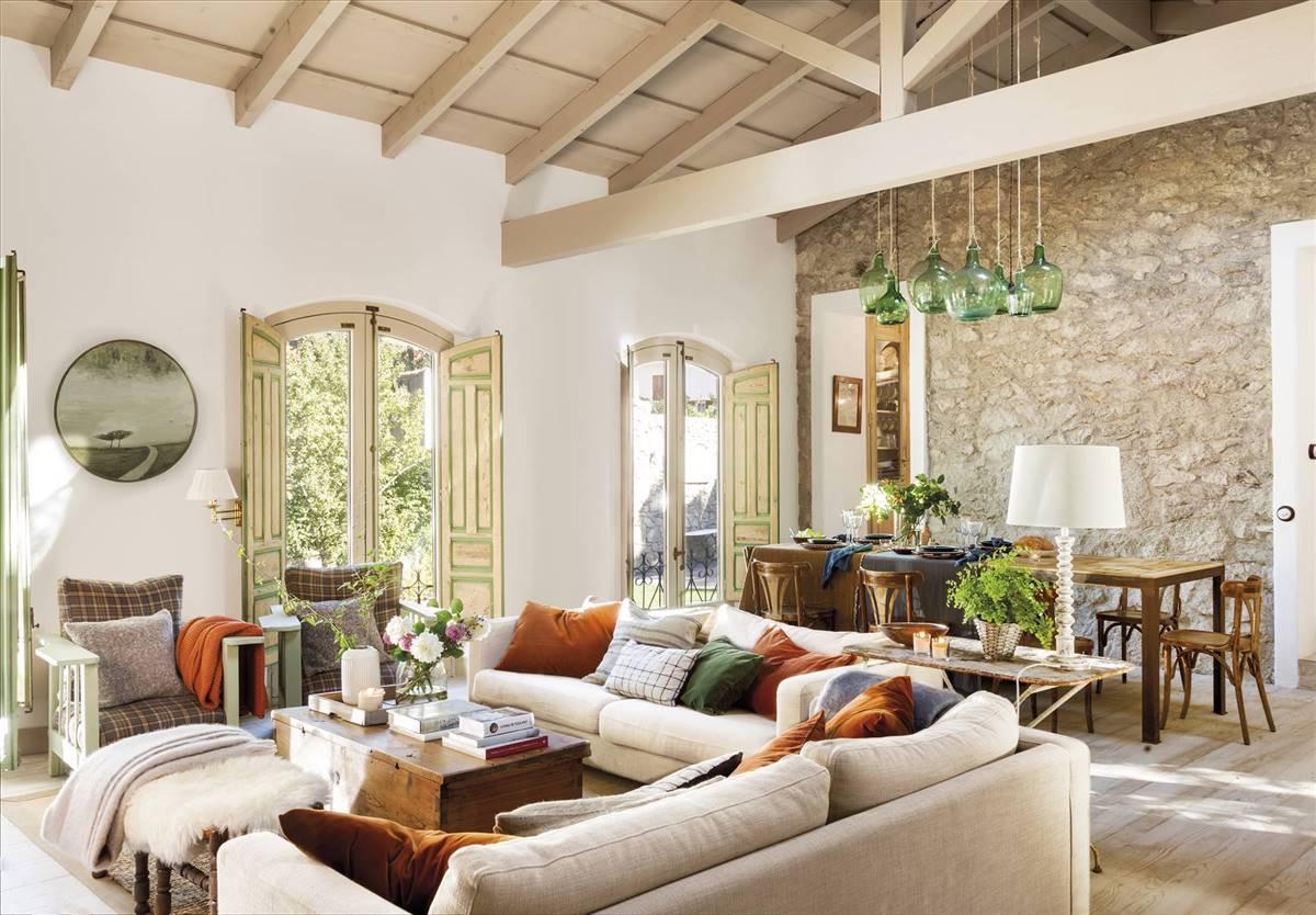 A rustic-chic Spanish house by interior designer Pablo González