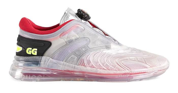 Gucci Transparent Ultrapace R Sports Shoes
