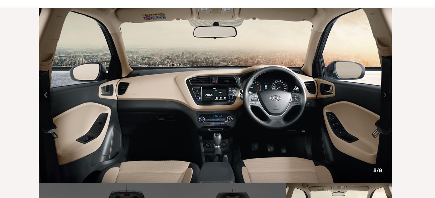 Hyundai i20 2020 specifications