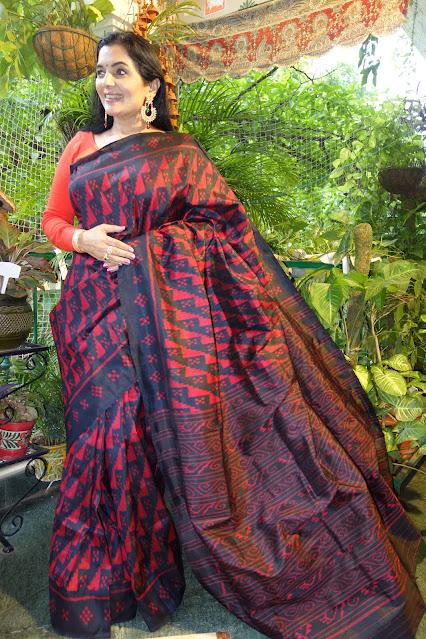 Sambalpuri silk saree - 5