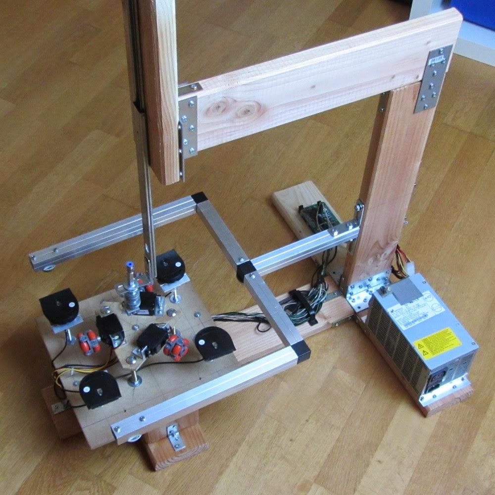 DIY 3D Printing: Holonomic Drive DIY 3d Printer Is