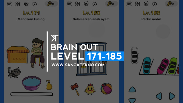 Kunci Jawaban Brain Out Level 171-185