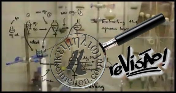Uma lente revisora atenta para os textos técnicos e científicos.