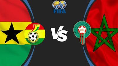 مشاهدة مباراة المغرب ضد غانا 08-06-2021 بث مباشر في مباراة ودية